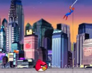 Spiderman save Angry Birds online